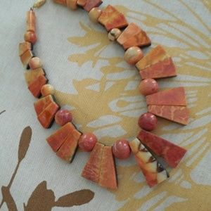 Genuine Apple Coral Necklace.